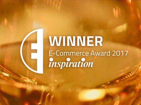 Inspiration wins the E-Commerce Award 2017