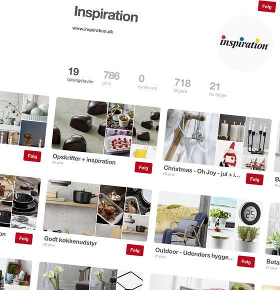 Pin dine favoritprodukter i Inspirations webshop