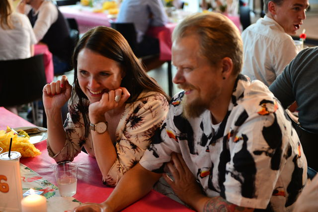 Summer party at Hesehus