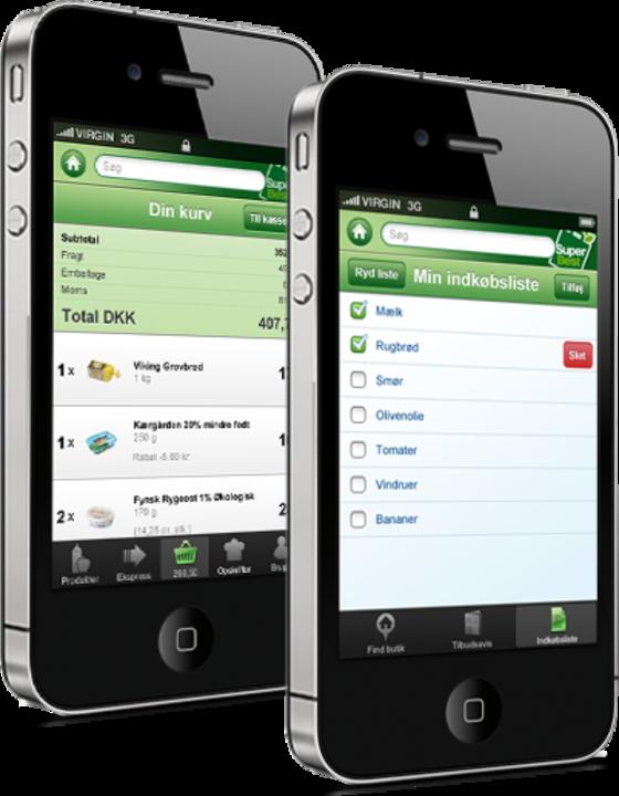 SuperBest app til køb af dagligvarer blev udviklet af Hesehus